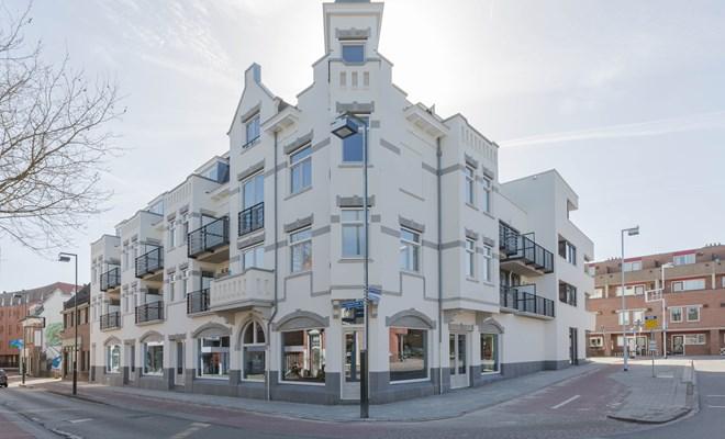 Het 'In between places'-complex op de hoek Brinkweg/Langestraat in het centrum van Hilversum.