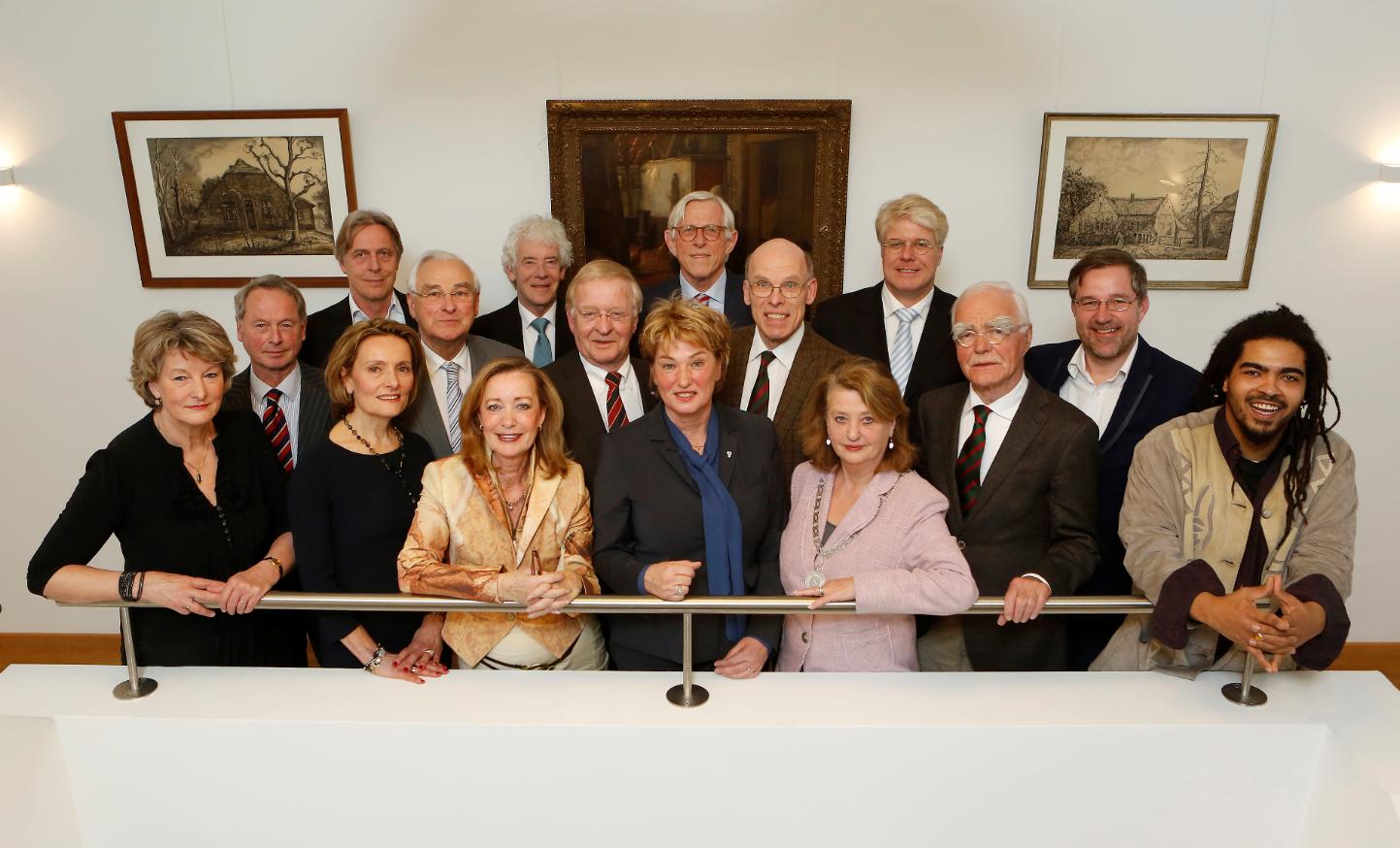 De nieuwe Larense raadsleden
